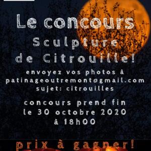 Concours Citrouille!